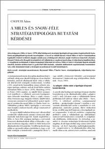 miles and snow typology pdf
